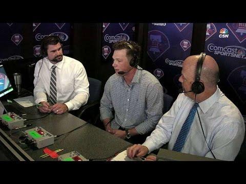 CWS@PHI: Hoskins talks Paul Owens Award, big season