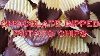 ✽ Chocolate Dipped (covered) Potato Chips ✽ ポテトチップチョコレート 포테이토칩 초콜릿 Noshing With Paris