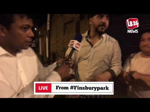 Watch reactions from the FinsburyPark worshippers about the Terrorist Attack by a white supremacist.