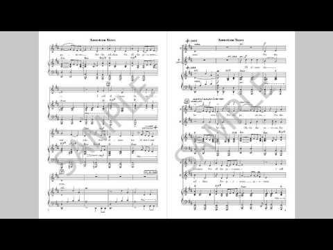 American Tears - MusicK8.com Choral Octavo