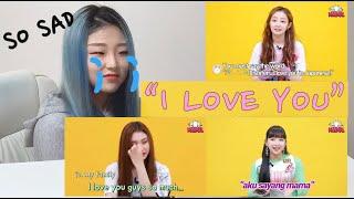 Secret Number (Lea, Denise, Dita) Idol Family Reaction