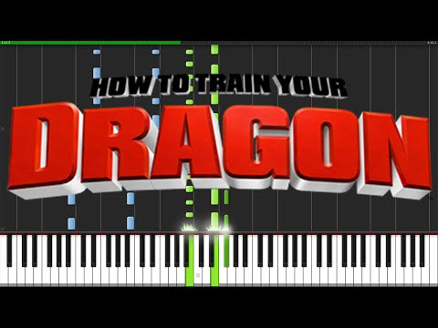 How To Train Your Dragon Medley [Piano Tutorial] (Synthesia) // Ian Yan
