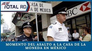 Momento del asalto a la Casa de la Moneda en México