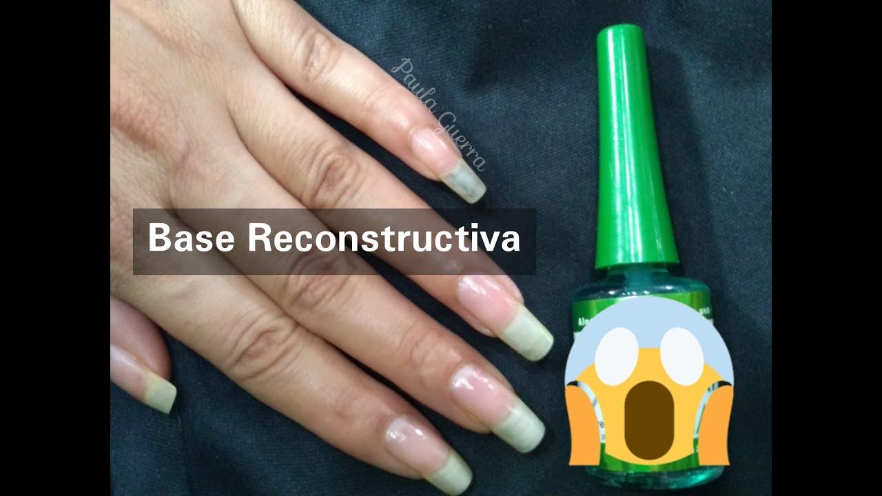 BASE RECONSTRUCTIVA DE UÑAS