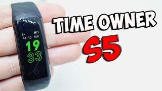 Обзор Time Owner S5  Смарт браслет за 1200руб. +КОНКУРС БЕЗ РЕПОСТОВ