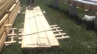 Как правильно обработать лес для крыши   от огня и вредителей