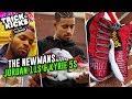 Julian Newman Gets FIRE Jordan 11 Customs From Sierato! Jaden Newman Cops Some Kyries 🔥