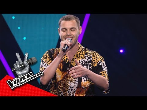Karim - 'Back To Black' | Blind Auditions | The Voice Van Vlaanderen | VTM