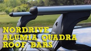 E39 Lockable Nordrive Roof Bars for BMW 5 Series 1995-2003