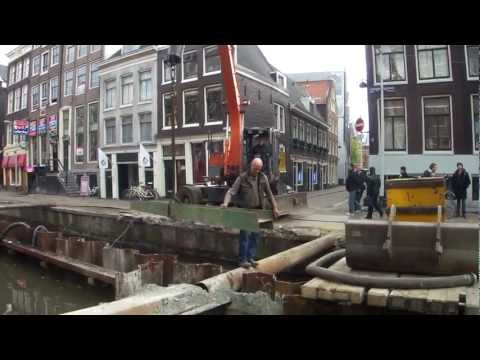 Amsterdam Red Light District canal works (now finished)