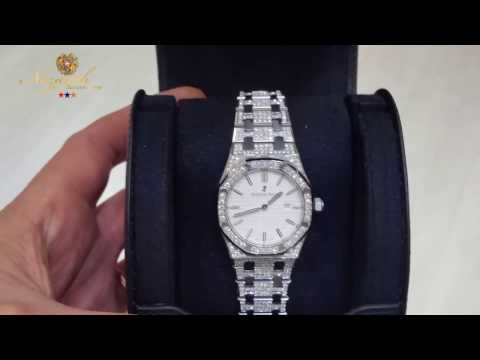 Audemars Piguet Royal Oak. Kuwait Diamond setter [ Nazo Arabian]