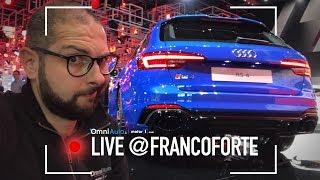 Audi e il suo angolo hot, con RS4 ed R8 RWS | Salone di Francoforte 2017