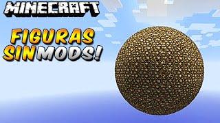 Minecraft: FIGURITAS - ESFERAS, CILINDROS SIN MODS! En Minecraft Vanilla
