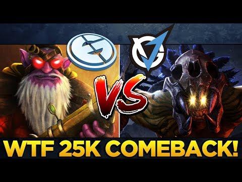 EG vs VG.J Match of the Day! WTF 25k Comeback Dota 2 PGL Open Minor