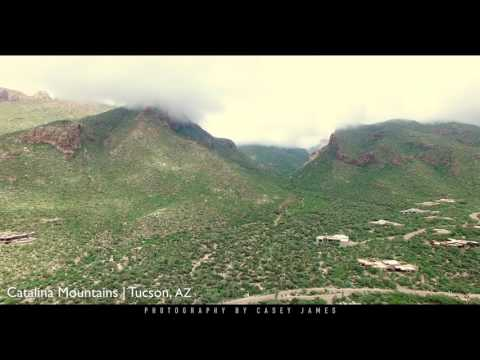 Clouds over the Catalina Mountains - Tucson, AZ