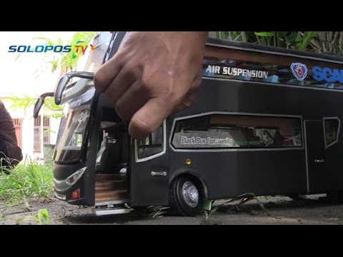 Tips Membuat Replika Bus