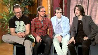 "CARS 2 : Weezer Clip ""On Working On Cars 2"" (WEAREMOVIEGEEKS.COM)"