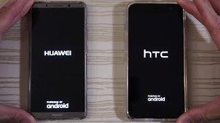Huawei Mate 10 Pro vs HTC U11 - Speed Test!