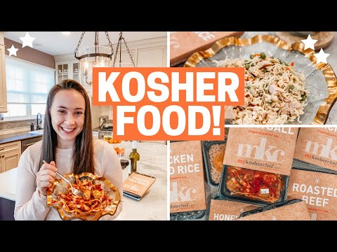 WHAT DOES KOSHER MEAN?? + My Kosher Chef Meals REVIEW!!
