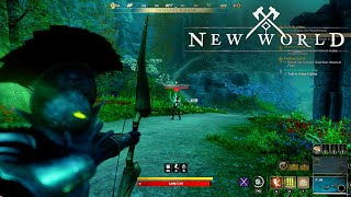 10 Minutes of New World Level 60 Edengrove Quest Gameplay