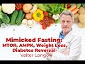 Mimicked Fasting - Weight loss, Diabetes Cure - amps stem cells; MTOR, AMPK- Valter Longo