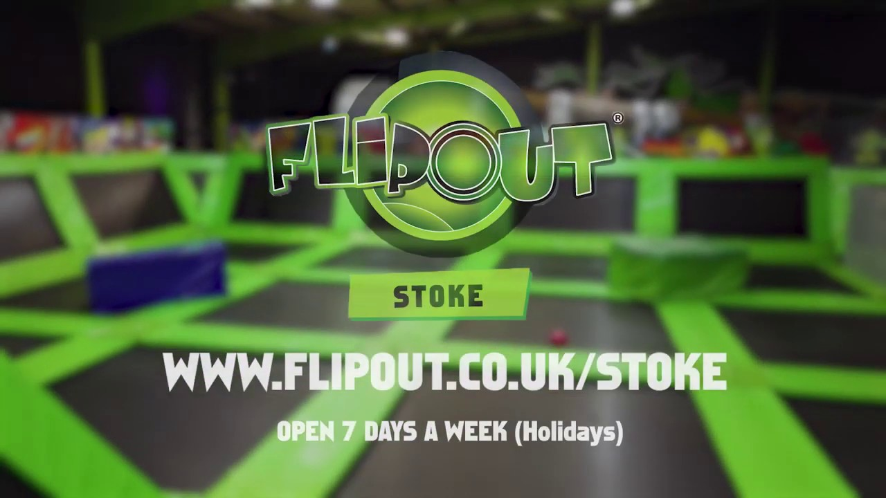 Welcome To Staffordshires No 1 Trampoline Theme Park!  Flip Out Stoke