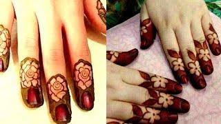 Mehndi Designs In Fingers : Most beautiful attractive finger tip designfinger mehndi