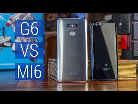 Xiaomi Mi6 vs LG G6 сравнение: железо или камера? Китай или А-бренд. Муки выбора