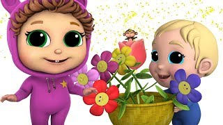 Spring Flowers   Baby Joy Joy   Learn Counting
