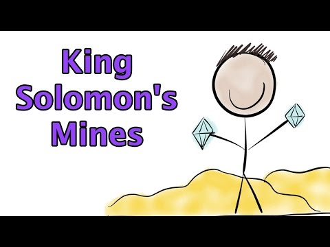 King Solomon's Mines By H. Rider Haggard (Book Summary) - Minute Book Report