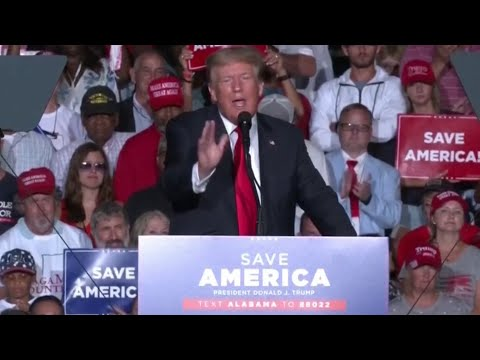 Trump urges supporters in Alabama to get vaccinated, gets booed at his own rally