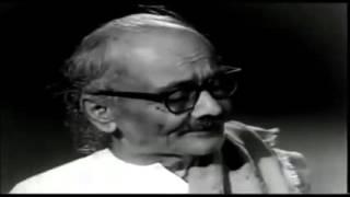 Kannada Kavi Dattatreya Ramachandra Bendre singing His Own written song