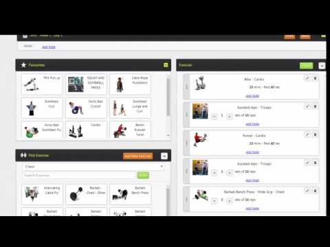FitDesk Health Club Workout Software