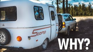 WHY We Chose to LIVE in a 13ft Scamp Trailer