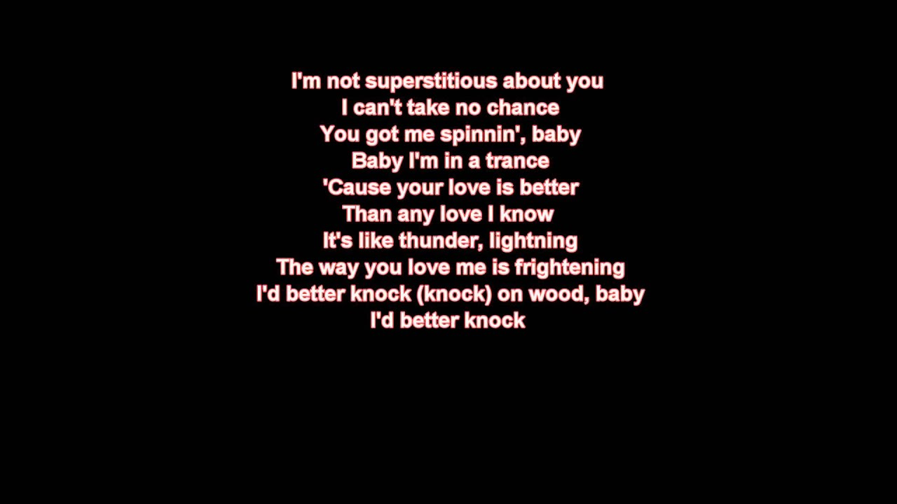 thunder and lightning lyrics thunder lightning lyrics youtube
