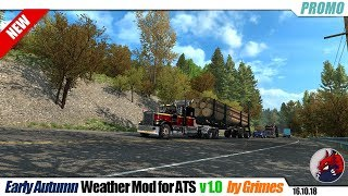 """[""""American Truck Simulator"""", """"mods"""", """"modifications"""", """"weather mod"""", """"Early Autumn Weather Mod for ATS"""", """"by Grimes""""]"""
