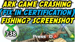ARK Survival Evolved News: Fix For Game Crashing (738) In Certification / Fishing Screenshot