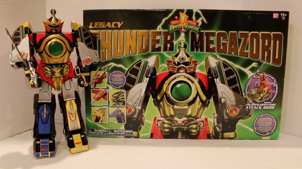 Power Rangers Mighty Morphin Legacy Thunder Megazord Review