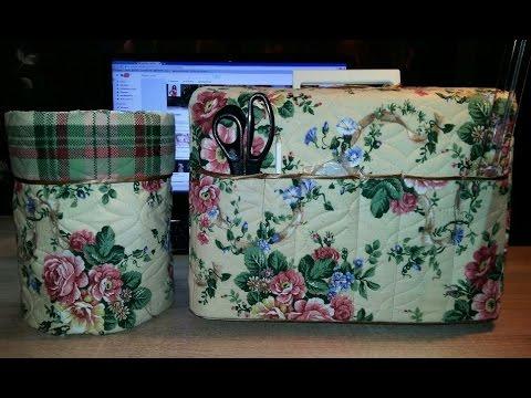 53e3dab4216e Красивый и удобный чехол для швейной машинки своими руками #швейнаямашинка  - YouTube