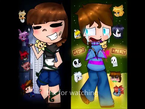 Everything changes speedpaint undertale and five nights at freddy s
