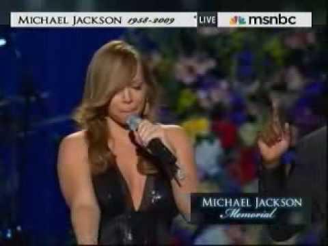 HD Mariah Carey - Ill Be There Live Michael Jackson Memorial