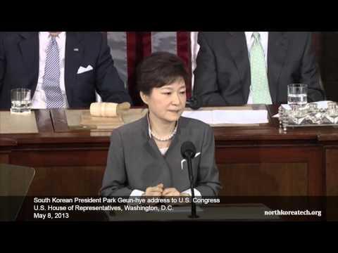 Park addresses Congress on North Korea