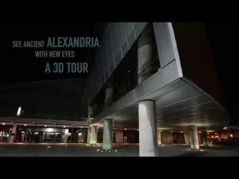 EGYPT - Video mapping at Bibliotheca Alexandrina - 21 & 22 May 2014