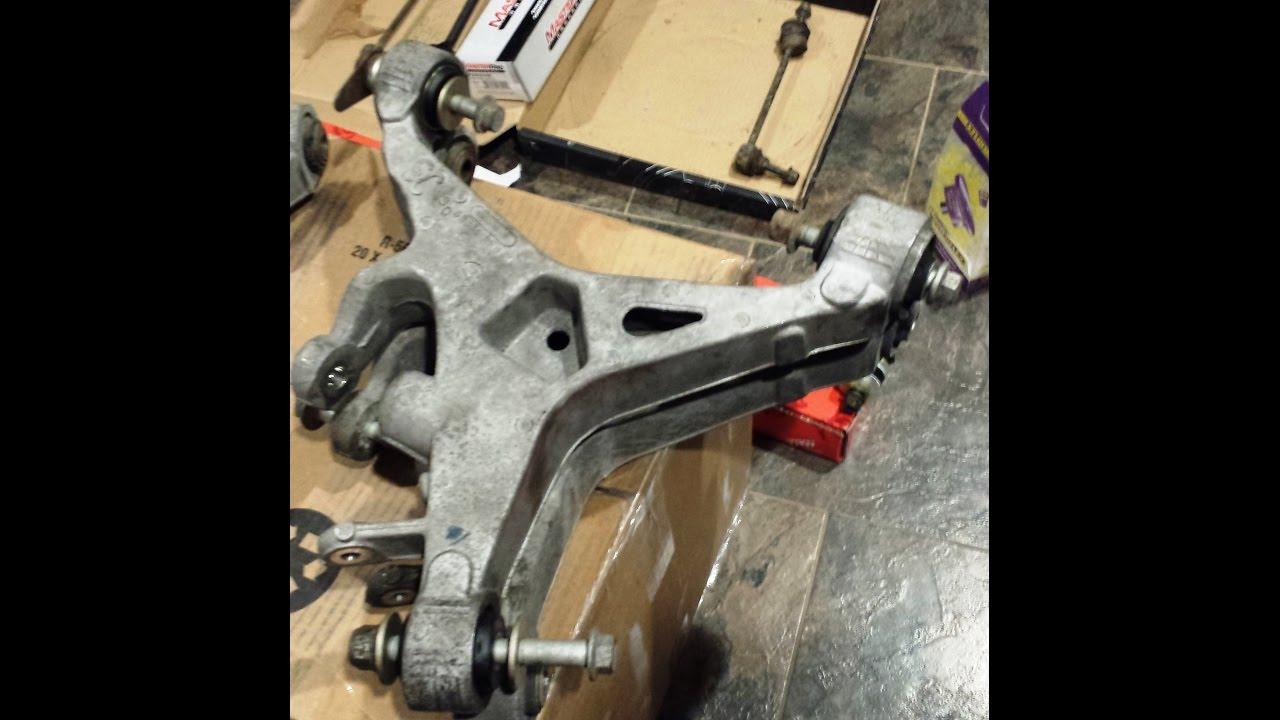 jaguar xj8 control arm 1 replacing rear lower wishbone [ 1280 x 720 Pixel ]