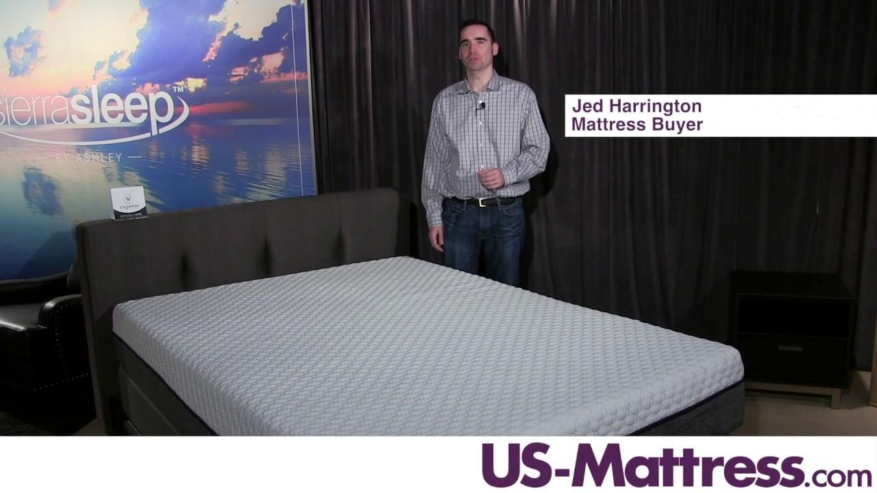 Sierra Sleep By Ashley Mygel Hybrid 1100 Mattress Expert Review