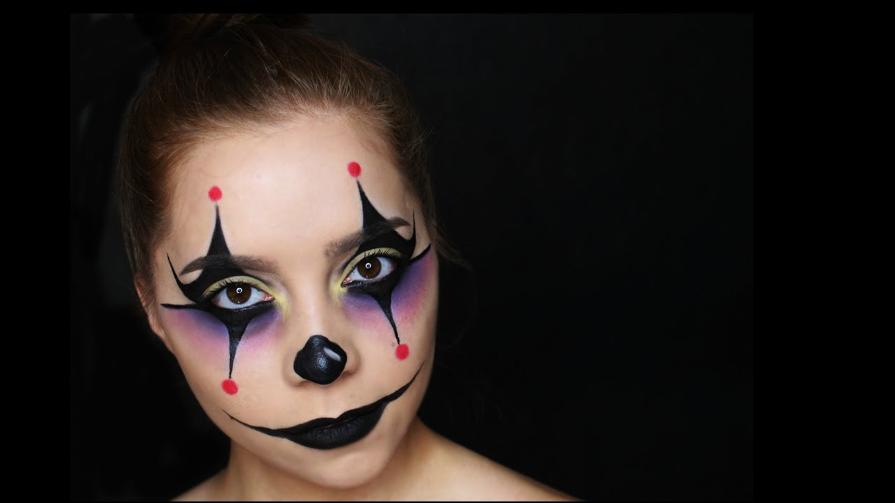 clown makeup tutorial 2015 youtube. Black Bedroom Furniture Sets. Home Design Ideas