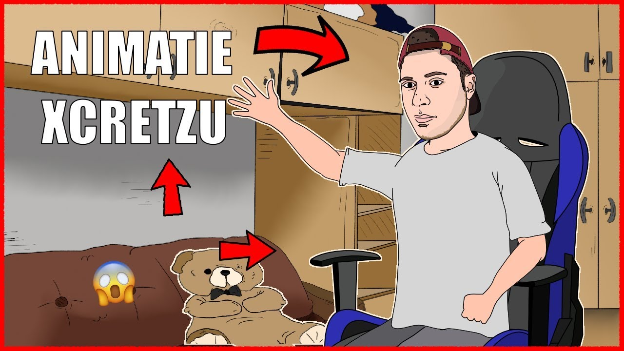 ANIMATIE XCRETZU  LIVE( FUNNY MOMENTS  )!!!!!!!!