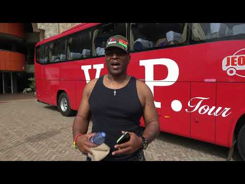 Luxury V.I.P. Tour Bus for the Journey of a Lifetime - Ghana May 2019