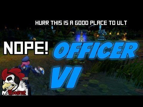 OFFICER VI ON DUTY