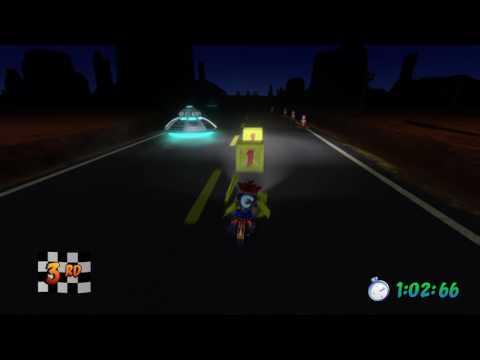 Crash Bandicoot N. Sane Trilogy: Area 51? (Time Trial - Platinum Relic)